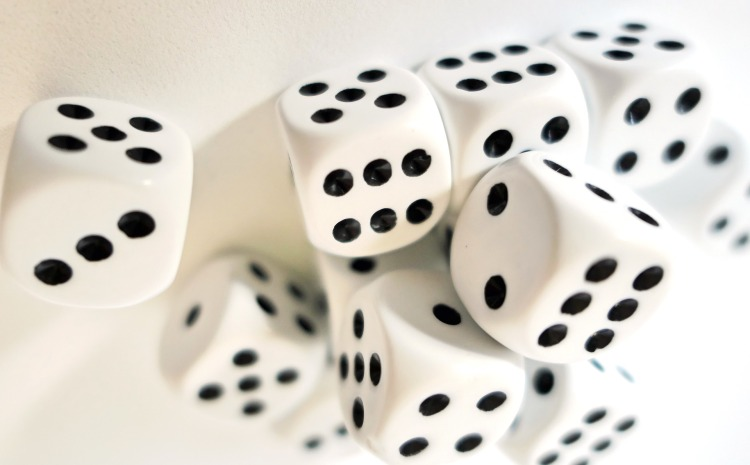 Picture of dice